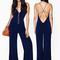 Blue casual - bqueen navy blue back cross | ustrendy