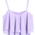 Ruffled layers Crop top - Lavender