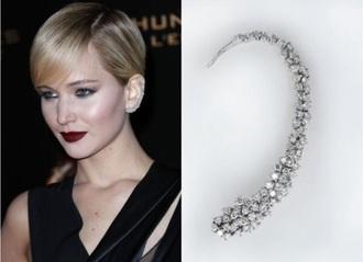 jewels earrings ear cuff cool idk :)))