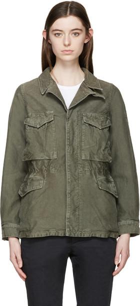 VISVIM jacket green