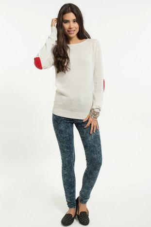 Heart on my sleeves sweater ~ tobi