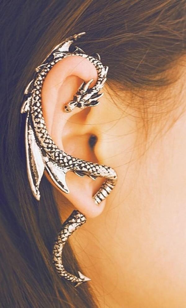 jewels earrings dragon dragon earrings