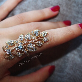 jewels fashion style ring knuckle ring jewelry gold gold ring bling