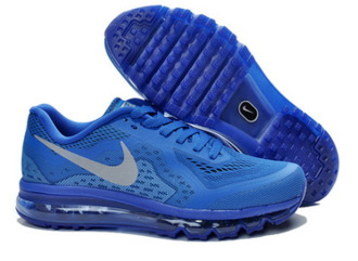 shoes nike aimax 2014 guys blue shoes nike airmax