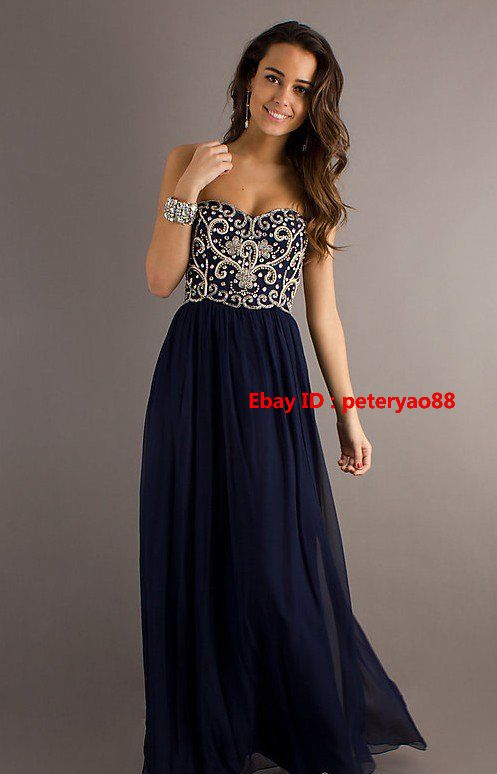 Neu Hochzeitskleid/Abendkleid Ballkleid/ evening dress prom Gr:36 38 40 42 44 46 | eBay