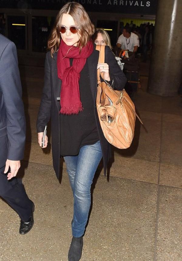 keira knightley boots scarf