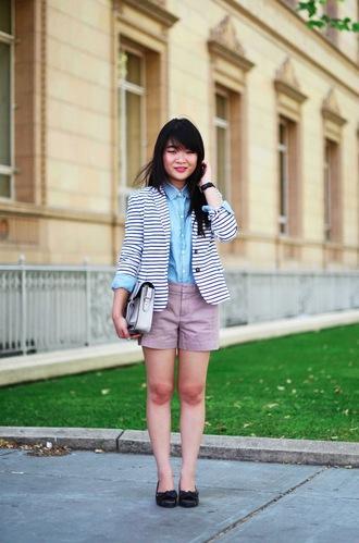 daily disguise jacket shirt shorts bag shoes nail polish jewels