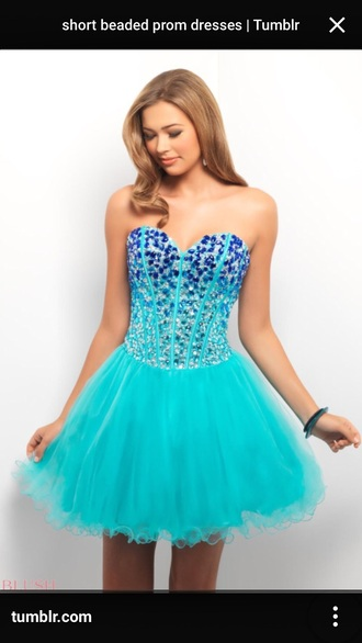 dress turquoise turquoise dress prom dress a-line dresses