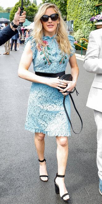 dress sandals ellie goulding mini dress lace dress summer summer dress