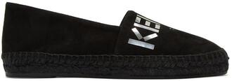 espadrilles suede black shoes