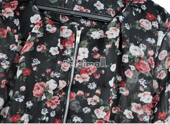 OL Lady Women Long Sleeve Print Shrug Short Jacket Coat Tops Blazer Suit Outwear | eBay