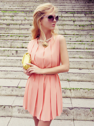 sirma markova dress bag jewels sunglasses belt