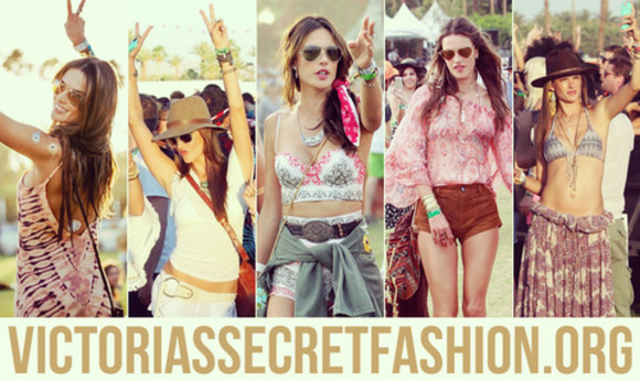 victoria's secret bag alessandra ambrosio coachella