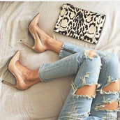 shoes,pumps,fashion,beige,nude,trendy,heels,high heels,classy,casual chic,fsjshoes