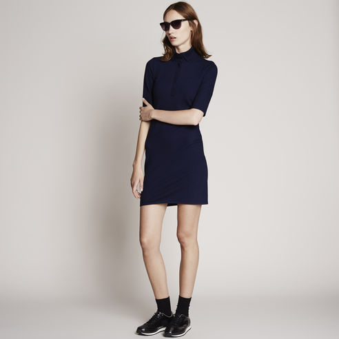 Half-Sleeve Super Stretch Polo Dress - Lacoste Canada