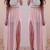 Flowy Maxi Skirt - Pink