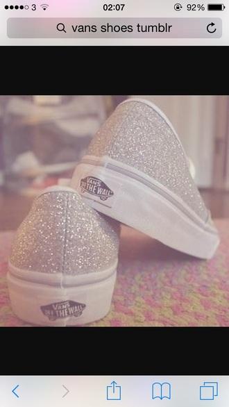 shoes vans glitter