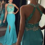dress,evening dress,mermaid prom dress,mermaid dresses,formal dress,formal party dresses,blue dress,light blue evening dresses,prom dress