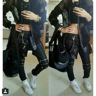 jacket black jacket blouse