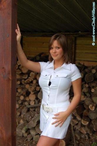 dress white dress belted dress front pockets