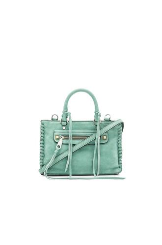satchel green bag