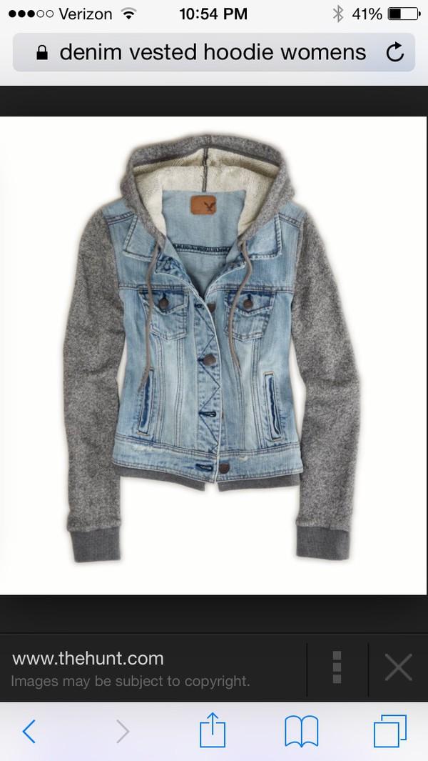 jacket ae vested hoodie