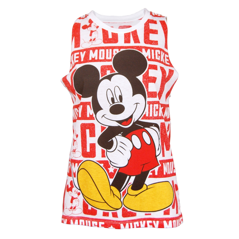 Buy Disney Women's Mickey Mouse Tank White by Freeze from Superhero City