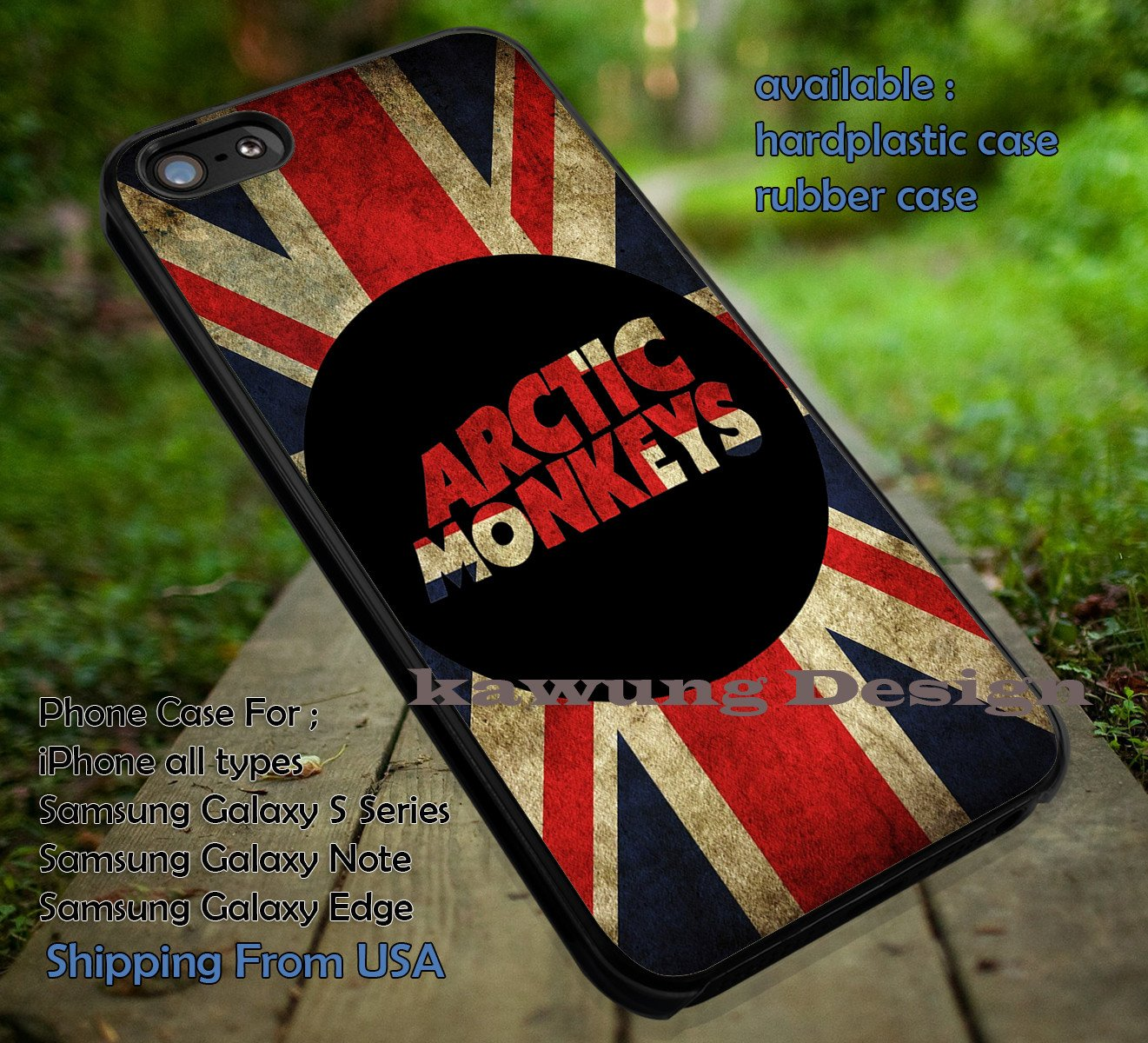 Arctic Monkey England Vintage Flag iPhone X 8  7 6s Cases Samsung Galaxy S8 S7 edge NOTE 8 5 4