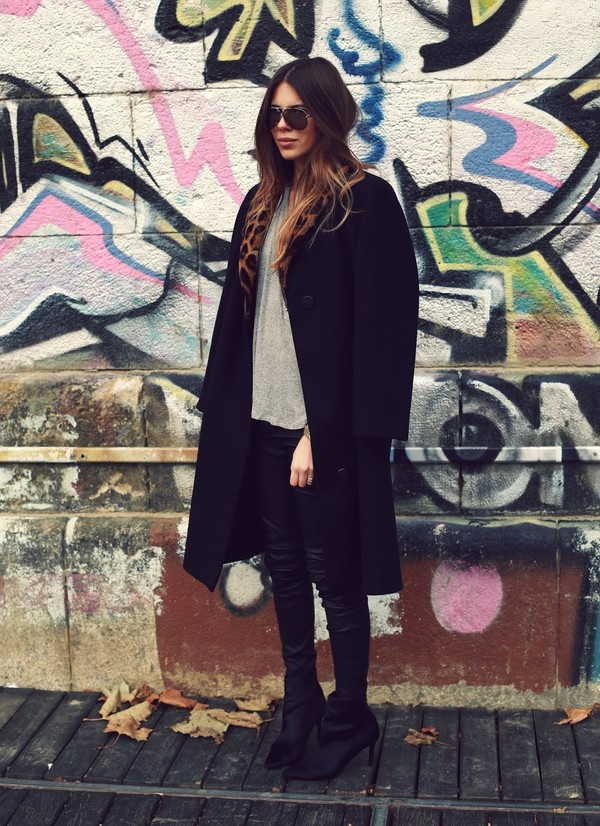 maja wyh coat shirt shoes
