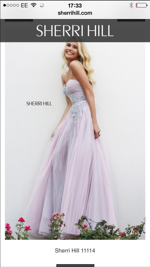 dress prom dress u.k. sherri hill