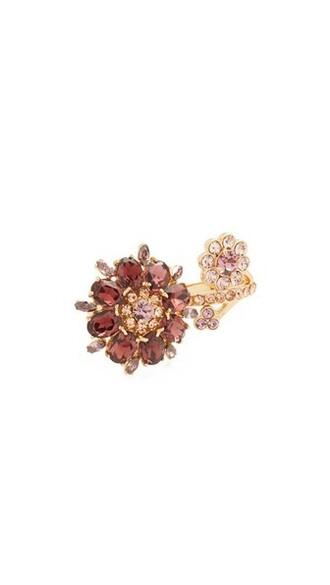 ring purple jewels