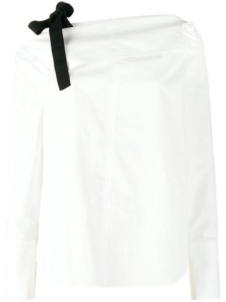 Proenza Schouler top women white cotton