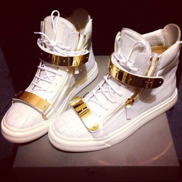 shoes gissuppes zanotti sneakers zanotti sneakers sneakers white