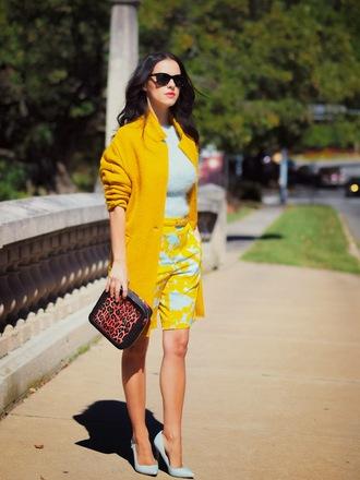 bittersweet colours coat sweater pants bag shoes sunglasses bermuda