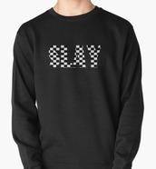 sweater,slay,hoodie,squares