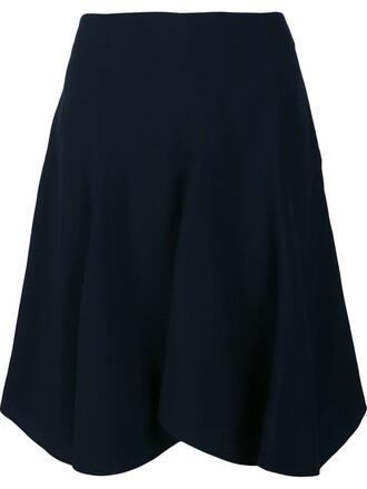 skirt draped skirt draped blue