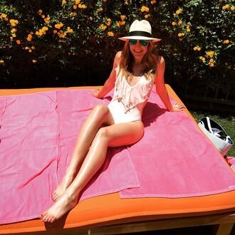 swimwear l*space one piece light pink blush revolve clothing revolve revolveme