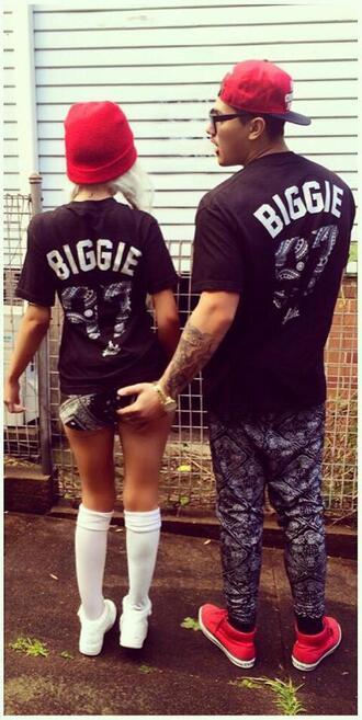 shirt t-shirt guys girls biggie 97