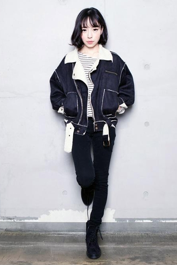 Thick Faux Suede Batwing Style Coat [FEBK0309]- US$59.99 - PersunMall.com