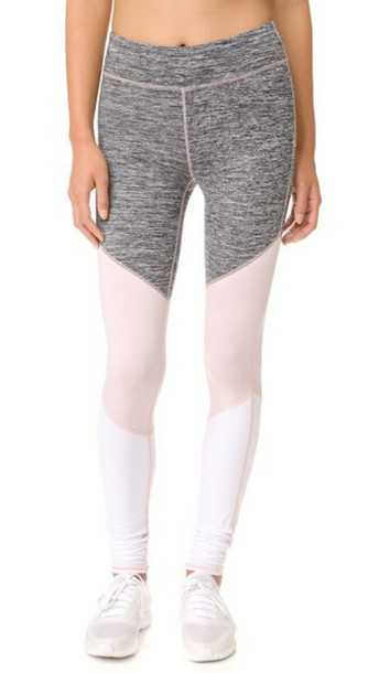 Free People Movement Intuition Leggings - Grey Combo