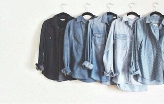 shirt jeans jean jackets winter swag winter outfits blue bluw