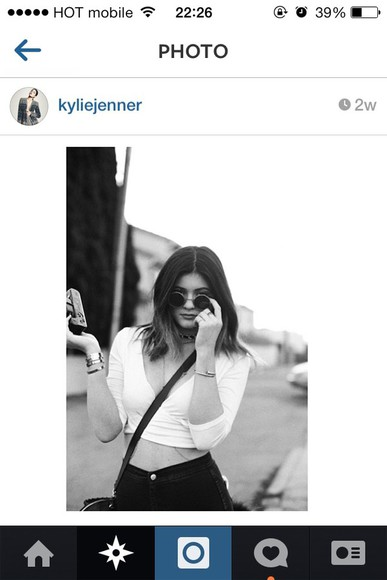 shirt fashion kylie jenner