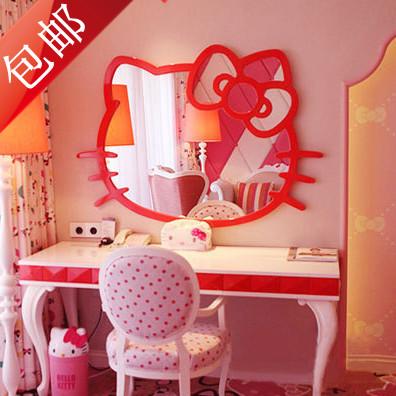 Taobao Agent Hello Kitty Hello Kitty Bathroom Mirror