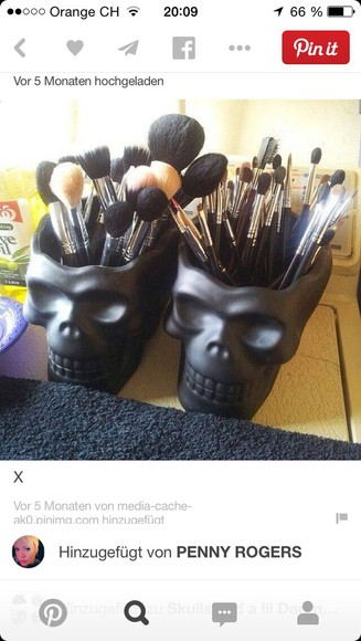 skull Make Up home decor