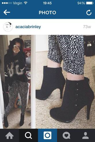 pants jumper boho acacia brinley shoes printed pants
