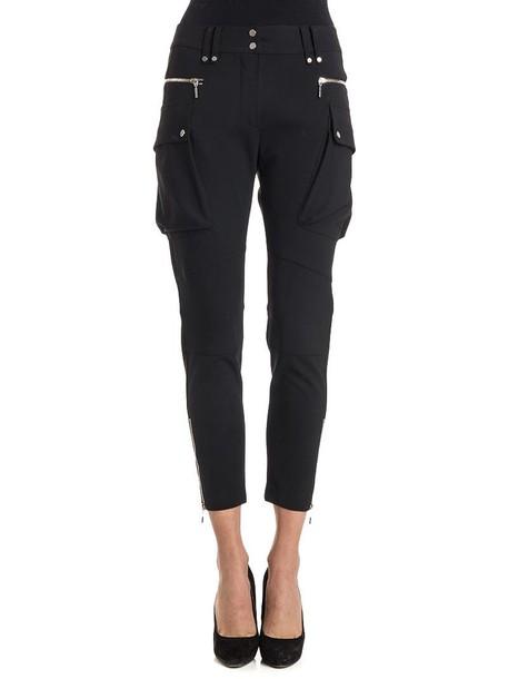 Plein Sud wool black pants