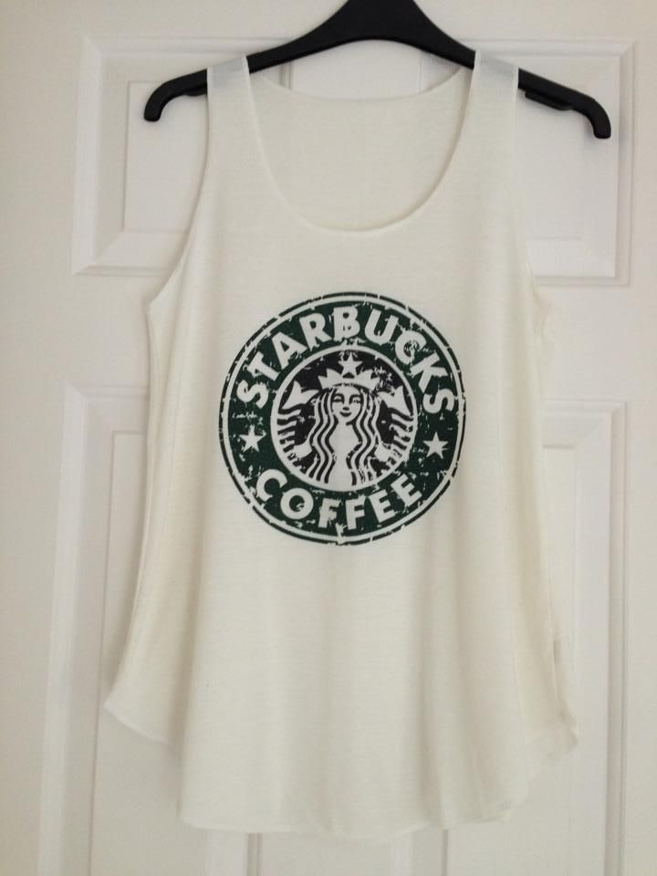 Ladies Tango top Starbucks-creamy colour(one size only) | eBay
