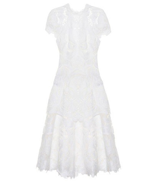 Jonathan Simkhai dress midi dress midi lace white