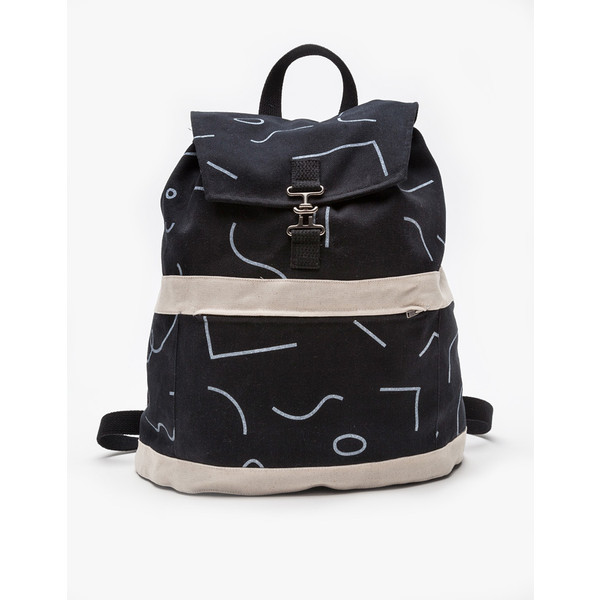 Dusen Dusen Satchel Backpack in Squiggles