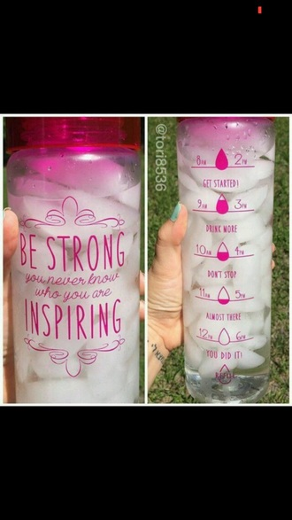 phone cover water bottle motivating water